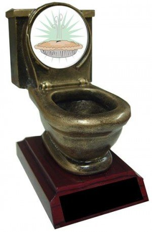 Pie Bake Off Toilet Trophy