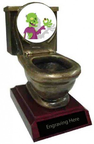 Most Creative Costume Toilet Trophy
