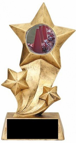 Cheerleading Resin Stars Trophy