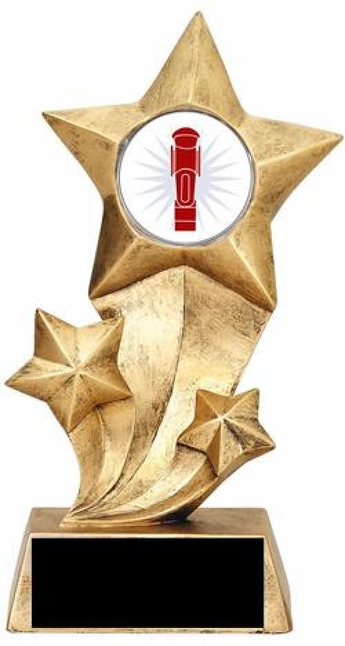 Resin Stars Foosball Trophy