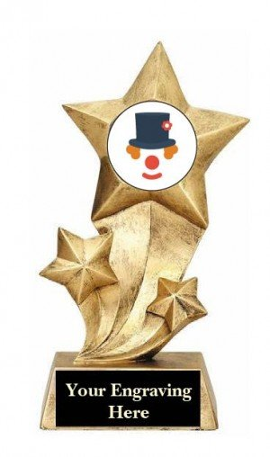 Funniest Halloween Costume Rising Stars Trophy