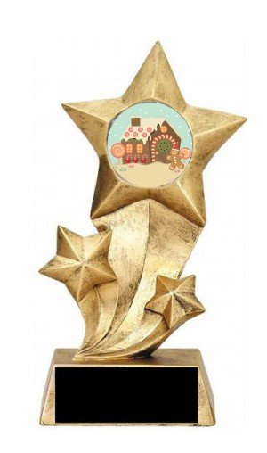 GingerBread House Rising Stars Trophy