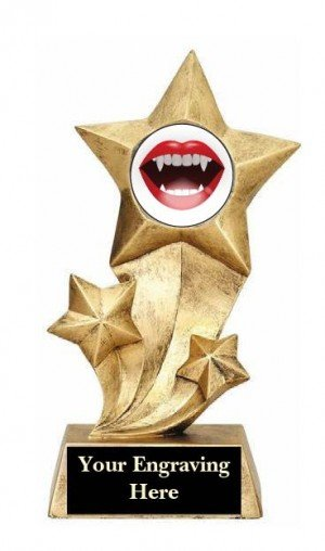 Sexiest Halloween Costume Rising Star Trophy