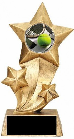 Tennis Resin Stars Trophy