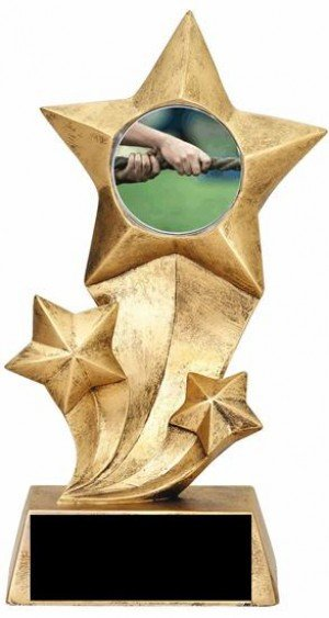 Resin Stars Tug of War Trophy