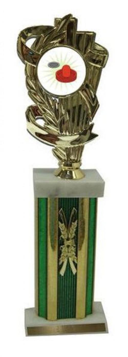 Air Hockey Large Column Trophies
