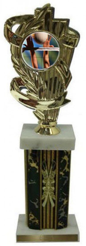 Large Column Volleyball Trophies