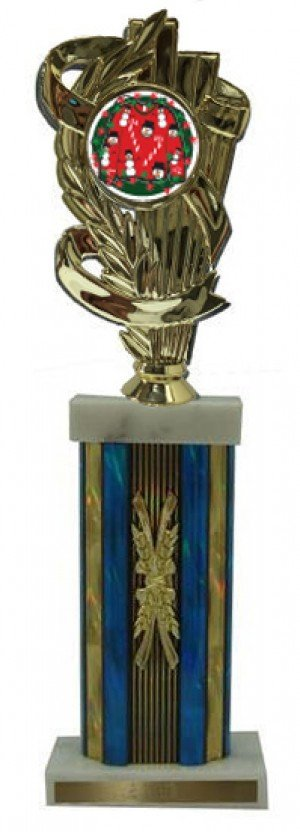 Large Column Ugly Sweater Contest Trophies