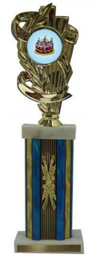 Cake Decorating Large Column Trophies