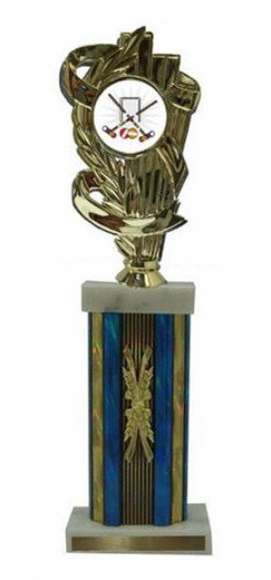 Croquet Large Column Trophies