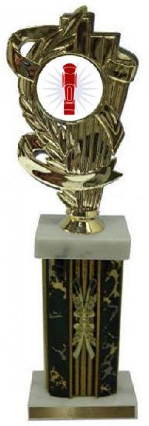 Foosball Column Cornhole Trophies