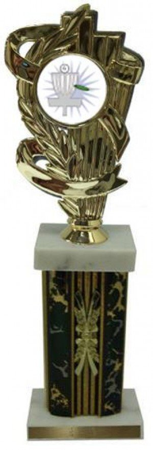 Column Frisbee Golf Trophies