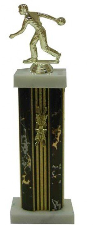 Bowling Column Trophy