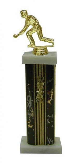 Ring A Pin Male Figure Column Trophy