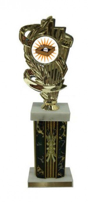 Column Washer Toss Trophies