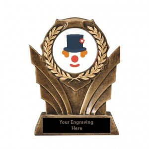 Halloween Funniest Costume Victory Resin Trophy