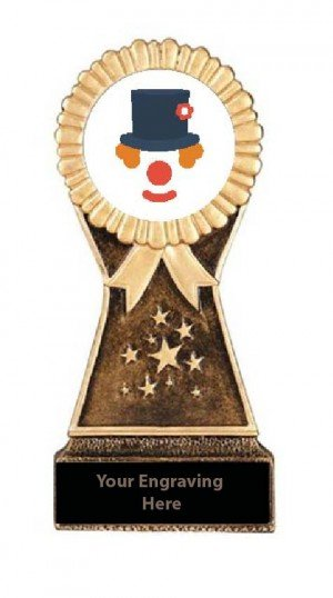 Resin Stand Halloween Funniest Costume Trophies