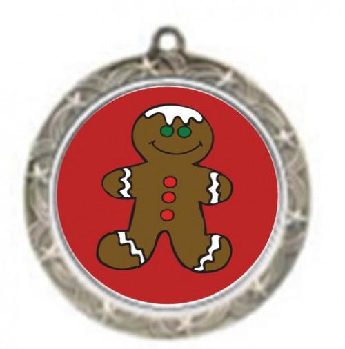Gingerbread Shooting Star Neck Medal