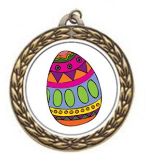 Easter Vintage Neck Medal