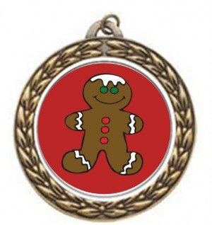 Gingerbread Vintage Neck Medal
