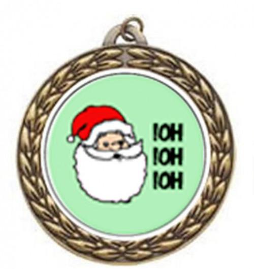 Santa Vintage Neck Medal