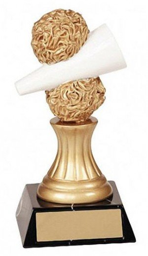 Cheerleading Pedestal Trophy Award