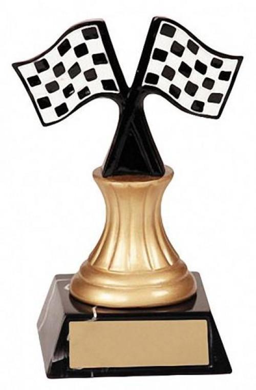 Racing Pedestal Trophy