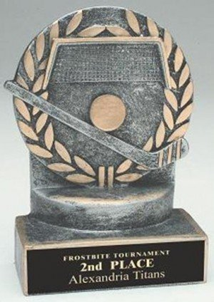 Hockey 4 1/4 Inch Resin Trophy