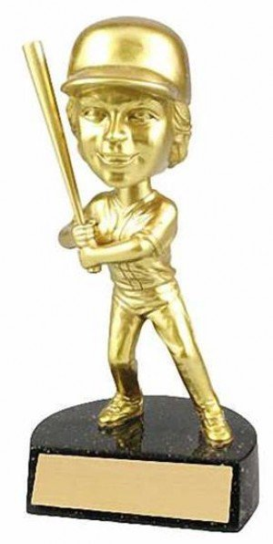 Softball Bobble Head Trophy