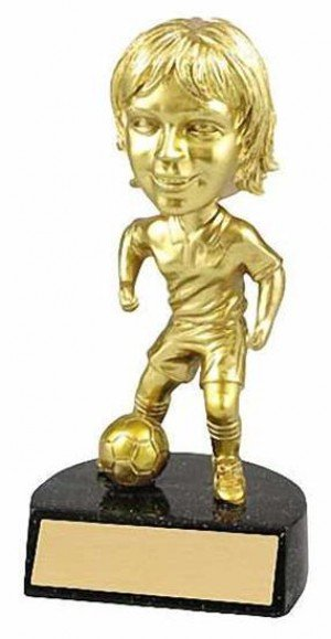 Female Soccer Bobble Head Trophy