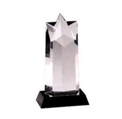 Star Black Pedestal Crystal