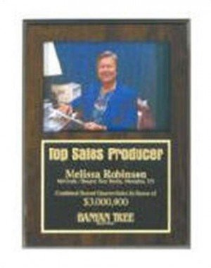 Picture Holder Plaque 7x9