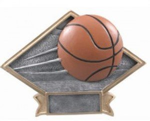 Basketball Diamond Trophy