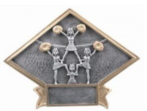 Cheerleading Diamond Trophy