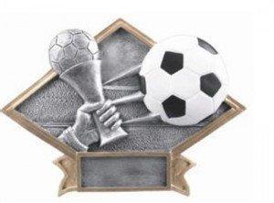 Soccer Diamond Trophy
