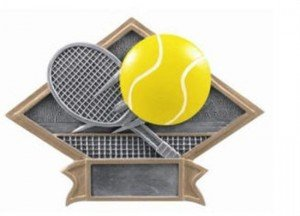 Tennis Diamond Trophy