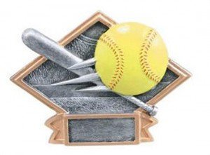 Softball Diamond Trophy