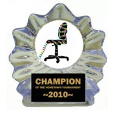 Cubicle Christmas Ice Flame Award