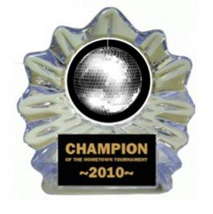 Disco Ball Ice Flame Award