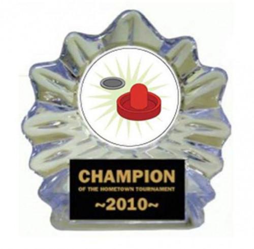 Air Hockey Ice Flame Award