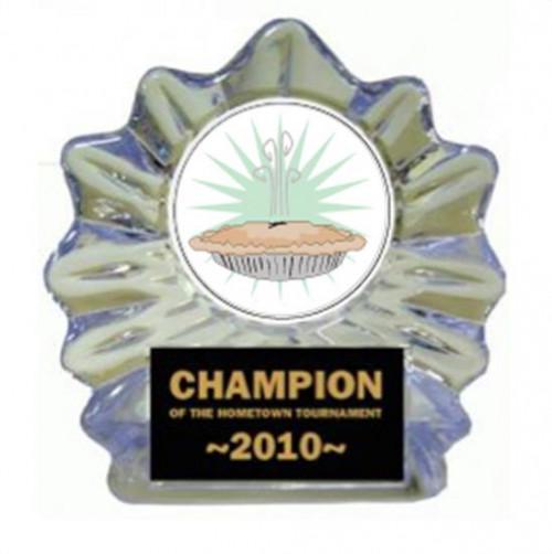 Pie Bake off Ice Flame Award