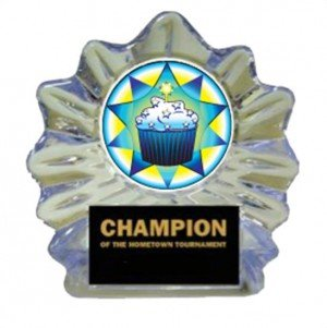 Cupcake Ice Flame Award