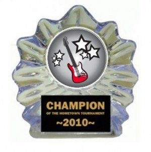 Electric Guitar Ice Flame Award