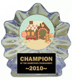 GingerBread House Ice Flame Award