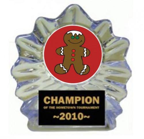 Gingerbread Ice Flame Award