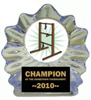 Ladder Golf Ice Flame Award
