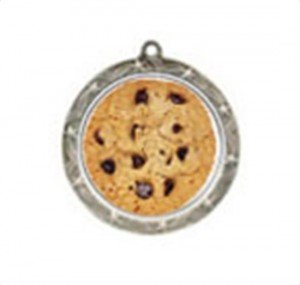 Cookie Bake off Shooting Star Neck Medal