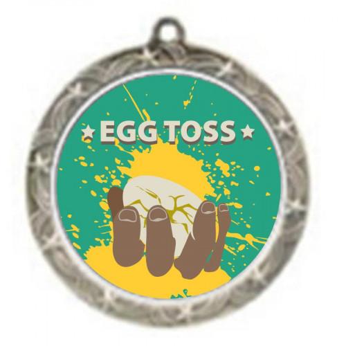 Egg Toss Shooting Star Medal