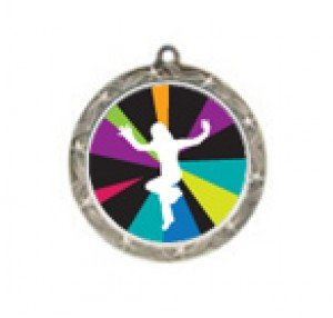 Just Dance Wii Shooting Star Neck Medal