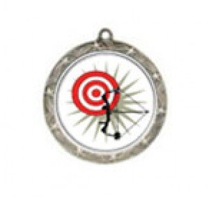 Shooting Star Archery Neck Medal